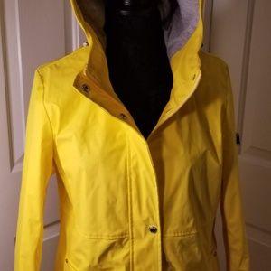 Sam Edelman yellow raincoat